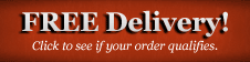 Free Delivery Available on your order